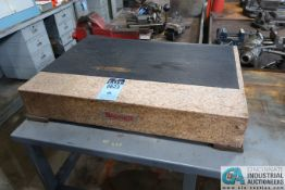 """24"""" X 36"""" STARRETT SURFACE PLATE WITH CART"""