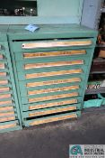 (LOT) TOOLING CABINET WITH WAFIOS TOOLING IN TOP DRAWER