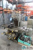 "K&T NO. 2 UNIVERSAL MILLING MACHINE; 12"" X 54"" TABLE"
