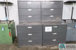 3-DRAWER LATERAL FILES