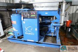 100 HP QUINCY MODEL QSI-500 AIR COMPRESSOR; S/N UN06097