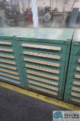 8-DRAWER TOOLING CABINET WITH THREADING DIES