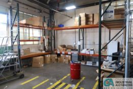 """SECTIONS 30"""" X 102"""" X 12' HIGH PALLET RACK"""
