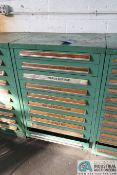 (LOT) TOOLING CABINET WITH WAFIOS DIES AND OTHER TOOLING