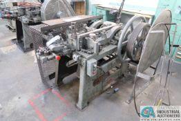 JH MODEL 3-1/2 NAIL MACHINE; .050 - .250 WIRE DIA.