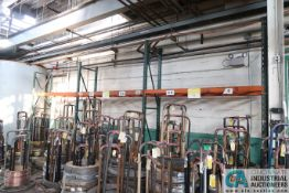"""SECTIONS 31"""" X 102"""" X 11' HIGH PALLET RACK"""
