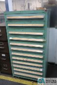 12-DRAWER TOOLING CABINET WITH HARDWARE