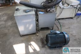 (LOT) BROWN & SHARPE DUST COLLECTOR AND ELECTRIC MOTOR