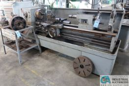 "17"" X 70"" CLAUSING COLCHESTER ENGINE LATHE; S/N 0050, 20-1600 RPM, 12"" 3-JAW CHUCK, TAILSTOCK, 17"""