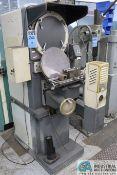 "NIKON MODEL R-14 OPTICAL COMPARATOR; S/N 39594, 5"" X 18"" WORK TABLE, STANGERT DRO"