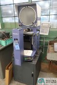 """14"""" MITUTOYO MODEL PH-3500 OPTICAL COMPARATOR; S/N 00611409, 5-3/4"""" X 17-1/2"""" WORK TABLE, MITUTOYO"""