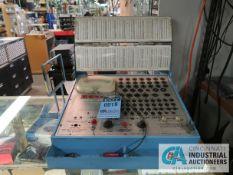 MERCURY MODEL 204 TV AND RADIO TUBE TEST ANALYZER