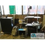 (LOT) MISCELLANEOUS OVERHEAD PROJECTORS AND SPEAKERS
