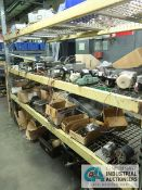 (LOT) CONTENTS OF (1) SECTION RACK APPROX. (75) SMALL FRACTIONAL MOTORS