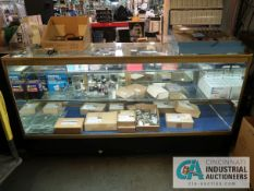 """72"""" X 22"""" X 29"""" LIGHTED GLASS DISPLAY CABINET"""