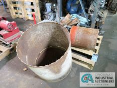 """(LOT) CONCRETE CORE DRILLS - (1) AT 22"""", (1) AT 13"""" AND OTHER SMALLER SIZES"""