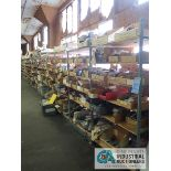 CONTENTS (29) SECTIONS SHELVING INCLUDING MISCELLANEOUS MOUNTING BRACKETS, ANTENNAS, CEILING MOUNTS,