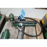 GREENLEE 767 HYDRAULIC KNOCKOUT PUNCH PUMP AND RAM