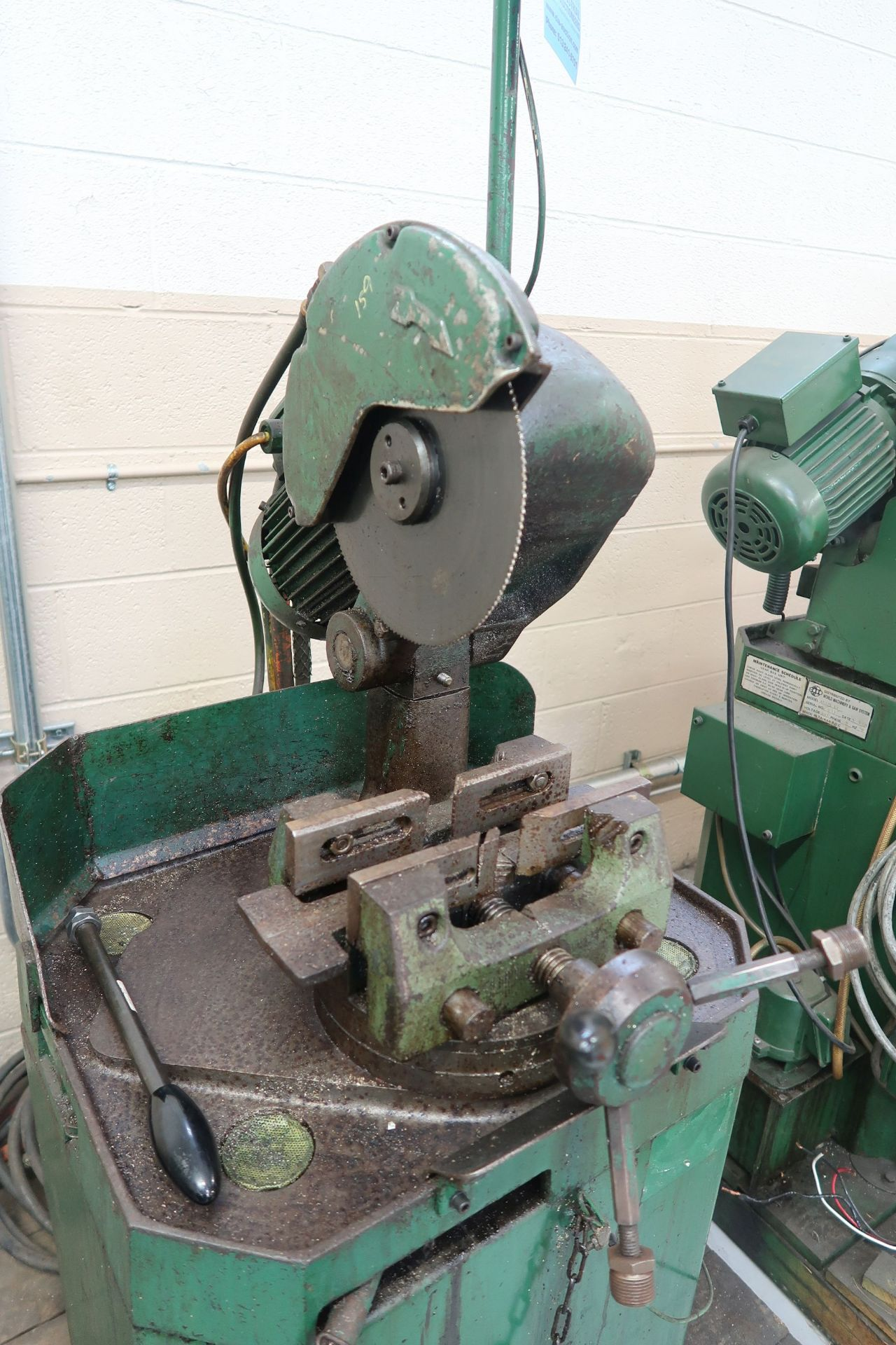 """10"""" BEWO MANUAL COLD SAW WITH PIVOT HEAD - Image 3 of 5"""