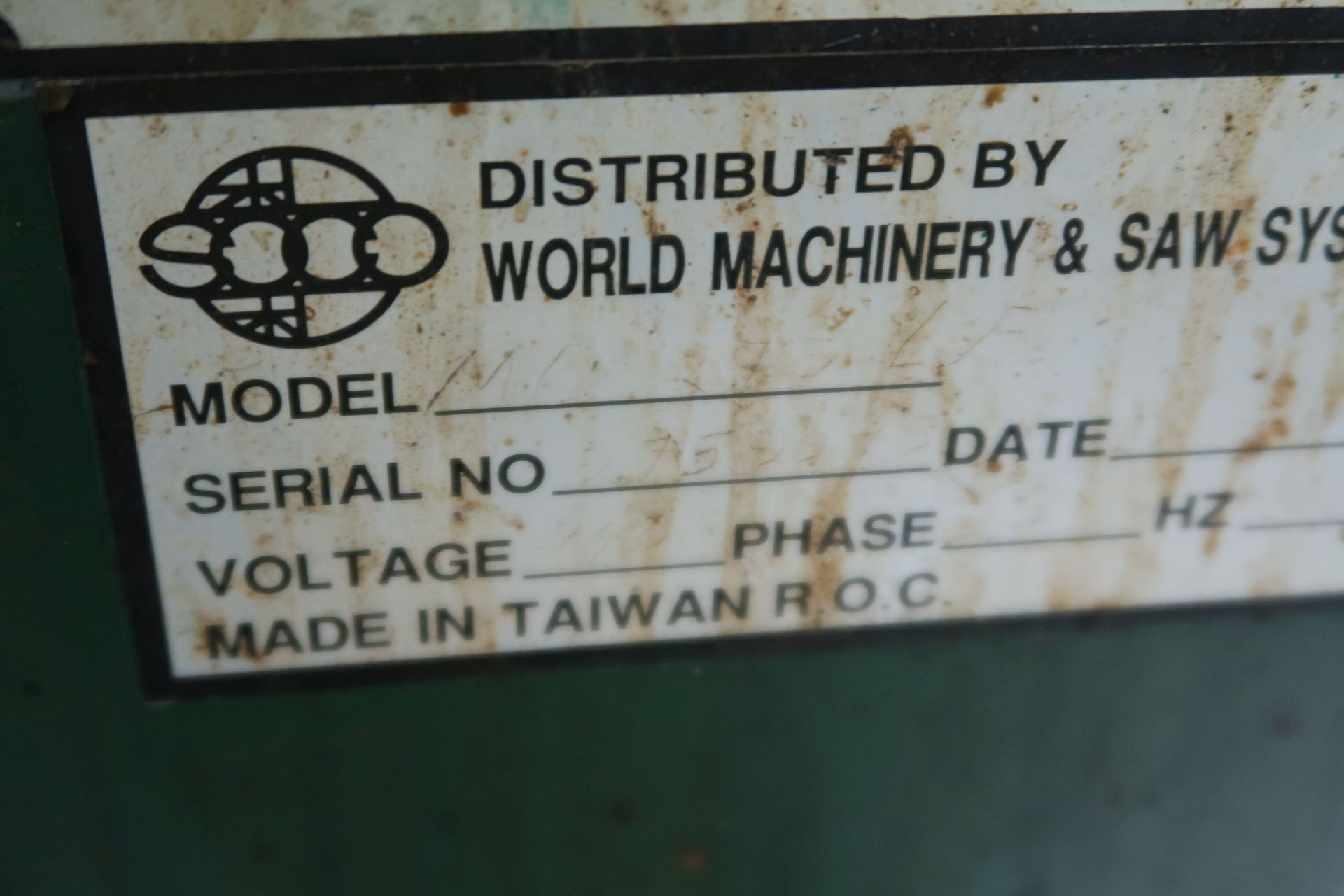 """10"""" BEWO MANUAL COLD SAW WITH PIVOT HEAD - Image 6 of 6"""