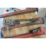 """36"""" STEEL PIPE WRENCHES"""