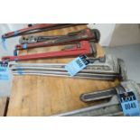 """36"""" ALUMINUM PIPE WRENCHES"""