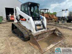 2010 BOBCAT T300 EROPS TRACK SKID STEER, 3,200 HOURS, MISSING DOOR, KUBOTA DIESEL, HAND CONTROL