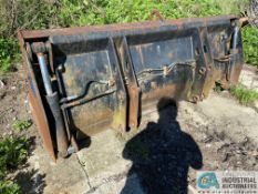 """MANUFACTURE UNKNOWN 96"""" WIDE FOUR-IN-ONE LOADER BUCKET"""