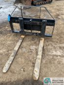 """42"""" DITCH WITCH FORK ATTACHMENT"""