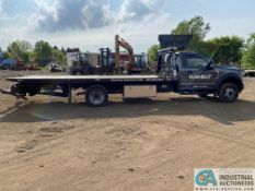 2018 FORD F550XL SINGLE AXLE ROLL BACK CAR CARRIER; VIN # FOUF5GY3JEC29572