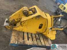 LIKE NEW 80MM PIN SIXE 3RD MEMBER METAL SHEAR ATTACHMENT