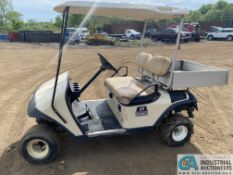"EZ GO ELECTRIC POWERED GOLF CART WITH 40"" BED"