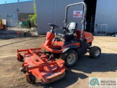 """KUBOTA MODEL F3680 DIESEL POWERED 4-WHEEL DRIVE TRACTOR WITH 72"""" HIPRO3 FRONT MOUNTED MOWER"""