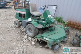 """60"""" RANSOMES MODEL 723D KUBOTA DIESEL POWERED FRONT MOUNT MOWER DECK TRACTOR, 3,674 HOURS"""