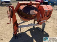 GAS POWERED CONCRETE MIXER