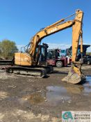 """CASE CX135SR TRACK EXCAVATOR, 7,430 HOURS; S/N DAC0813119, WITH 36"""" TOOTH BUCKET"""