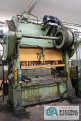 "150 TON MINSTER MODEL S2-150-84-36 SSDC PRESS; S/N 9768, PB CONTROL, LIGHT CURTAINS, 6"" STROKE,"