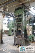 "600 TON BLISS MODEL KJ-25 KNUCKLE JOINT PRESS; S/N H57428, 5"" STROKE, «"" ADJ., 23"" x 28"" BED,"