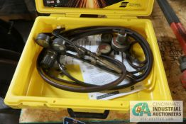 ESAB PUROX TRADE MASTER WELDING & CUTTING OUTFIT