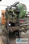 "56 TON JOHNSON MODEL 5FW OBI PRESS; S/N 55007, 4"" STROKE, 3"" ADJ., 9"" SHUT HEIGHT, 100 SPM"