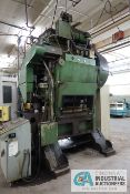 "60 TON PRECISION FLEX-O-PRESS MODEL SA-60-42-36 SSDC PRESS; S/N 360598, 2.5"" STROKE, 100 - 300"