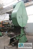 "35 TON NIAGARA MODEL A-3 1/2 OBI PRESS; S/N 24945, 2-5/8"" ADJ."