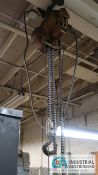 1/2 TON BUDGIT ELECTRIC CHAIN HOIST