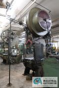 "110 TON CLEARING MODEL 110-5FW OBI PRESS; S/N 54-20122P, SSC-1500 CONTROL, AIR CLUTCH, 12"" STROKE,"