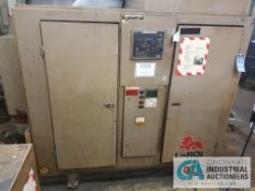 **75 HP LEROI MODEL WE75SSII AIR COMPRESSOR**Located offsite, sold subject to bid confirmation**