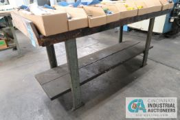 STEEL FRAME BENCHES
