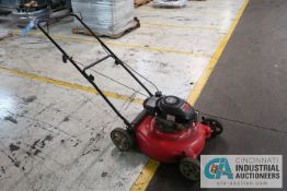 "21"" MTD GASOLINE POWERED WALK BEHIND LAWNMOWER; 4.5 HP"