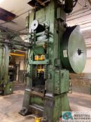 "800 TON MINSTER MODEL 90-800 KNUCKLE JOINT PRESS; S/N 4187, 7"" STROKE, 1/2"" ADJ., 28"" x 36"" BED"
