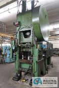 "135 TON MINSTER MODEL 40-6 SSSC PRESS; S/N 7503, 6"" STROKE, 28"" x 37"" BED, 3 1/2"" ADJ., 13"" SHUT"