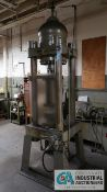 "HANNIFIN MODEL JMO FOUR-POST HYDRAULIC PRESS; S/N C-6888, 10-1/2"" BORE, 4"" STROKE, 13"" X 13"" BETWEEN"